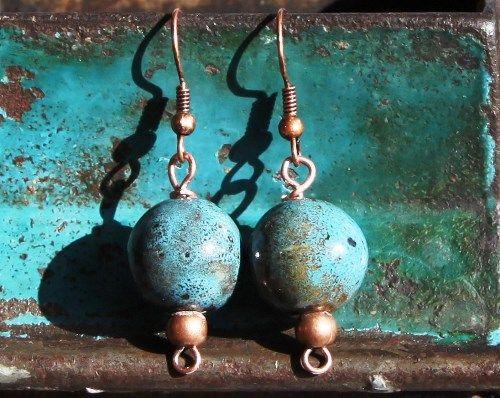 blue- copper