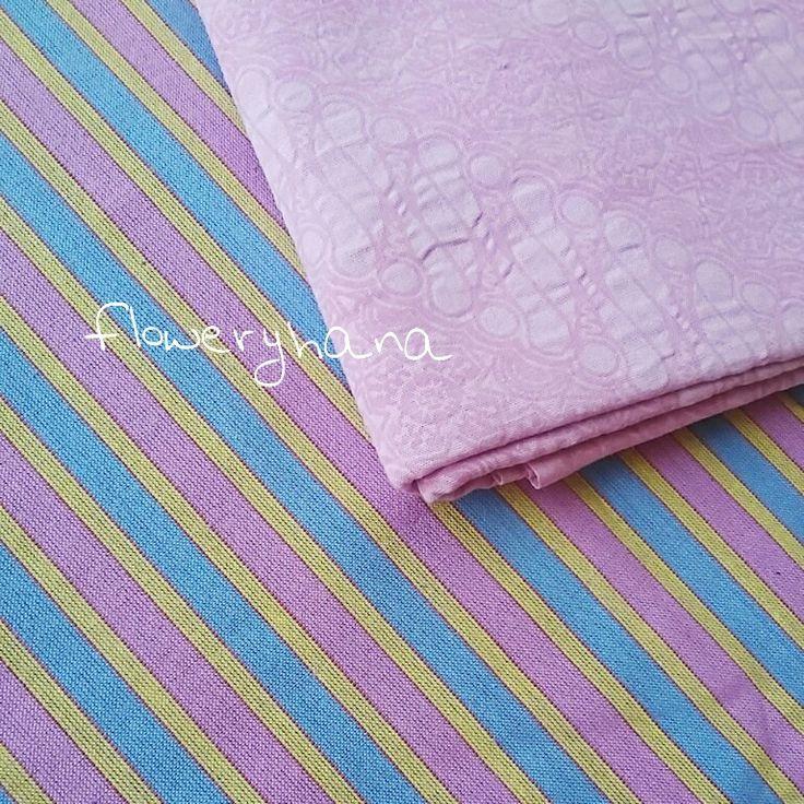 Pink n blue...Indonesian ikat, indonesian batik...