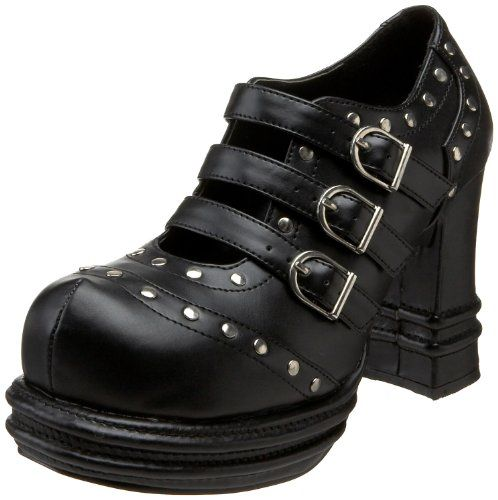 VAMPIRE-08, 3'' Platform Heel Buckle Strap Studded ShoesWomen's http://www.amazon.com/dp/B000YQY2K4/?tag=icypnt-20: Obsession Shoes, Women Vampire08, Design Shoes, Vampire08 Pump, Shoes Ideas, Vampires 08 Pump Black, Fashion Accessories, Women Shoes, Pleaser Women