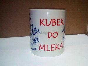Kubek kujawski do mleka
