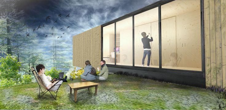 vivienda modular, etapa 1 www.arquitecturaenlaciudad.com