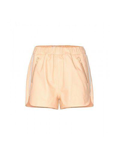 Maia Leather Shorts