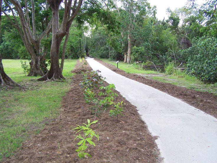 Park Construction Bicycleways