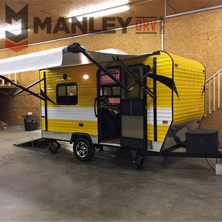 Manleyorv 12 Tiny Small Travel Off Road Trailer Toy Hauler ...