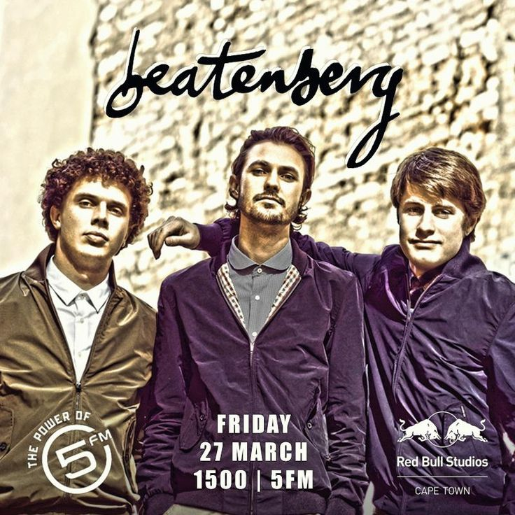 Tomorrow we #5LIVE with @Beatenberg_Band! Don't miss it.