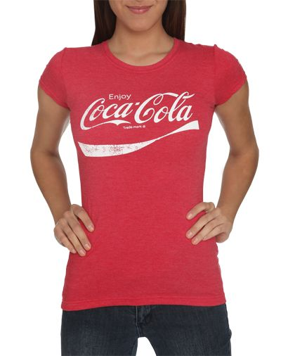 coca cola swoosh tee wet seal beauty fashion. Black Bedroom Furniture Sets. Home Design Ideas