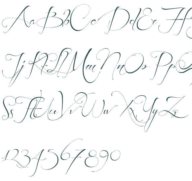 Writing Styles Alphabet
