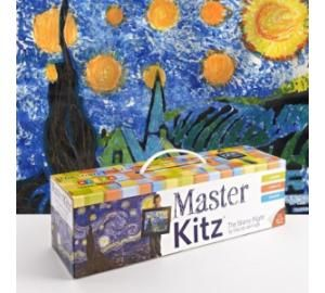 Master Kitz (4+, Kidzaw, $30) Everything is included to help kids create their own variation of a famous masterpiece - although it's more a ...