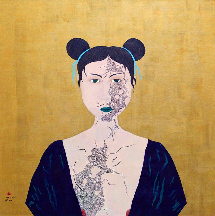 """""""Infinity Girl i-1202"""" by Baptiste Tavernier"""