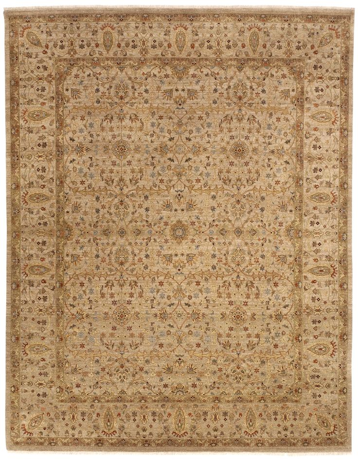 """Hand Made Indian Rug - 7'11""""x 10'"""