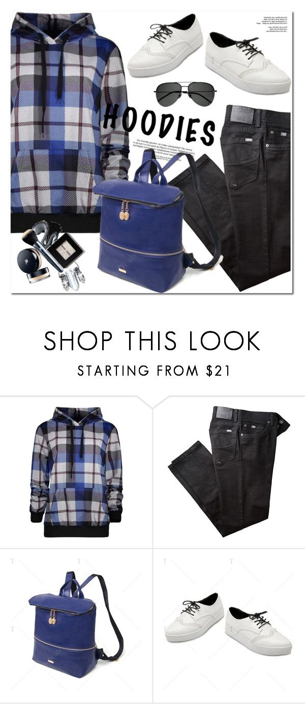 """Hoodies"" by oshint ❤ liked on Polyvore featuring BRAX and Yves Saint Laurent"