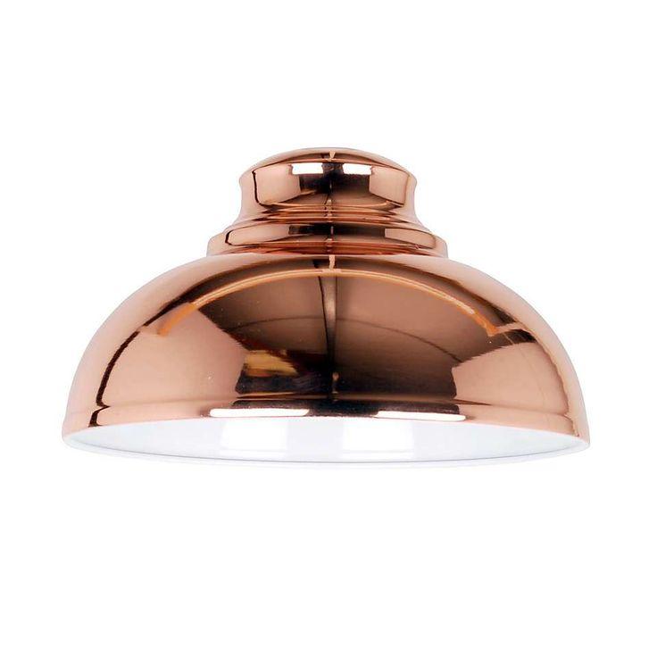 Cosy Skandi Appleton Galley Copper Pendant | Dunelm