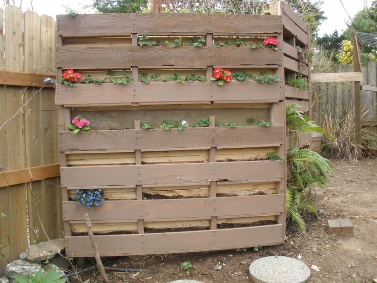 10 best worm tower images on pinterest backyard ideas for Pond made from pallets