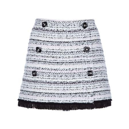 TRICOT CHIC double breasted mini skirt