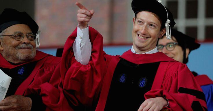 """Mark Zuckerberg Calls For """"Universal Income"""""""