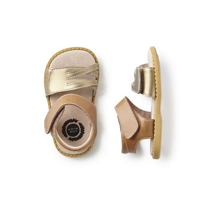 Her toes will be ready for sandy shores and warm summer days with these stylish sandals.