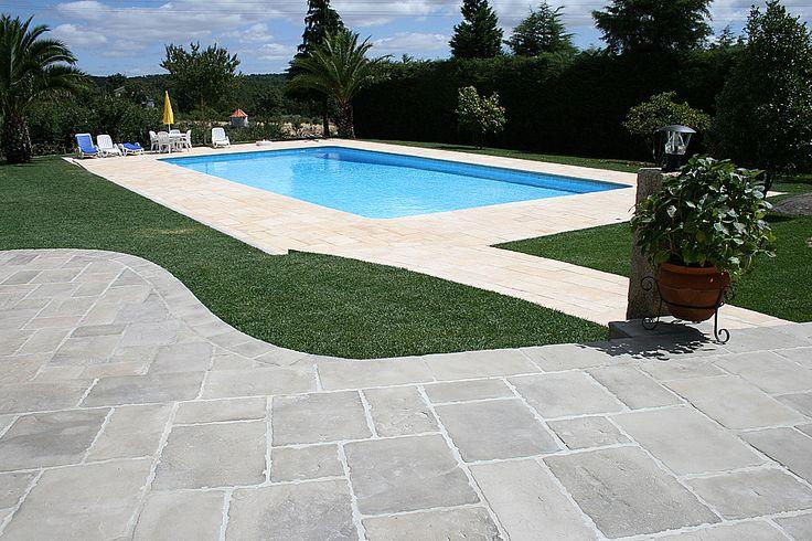 Pavimento Manoir em pedra natural reconstituída Fabistone