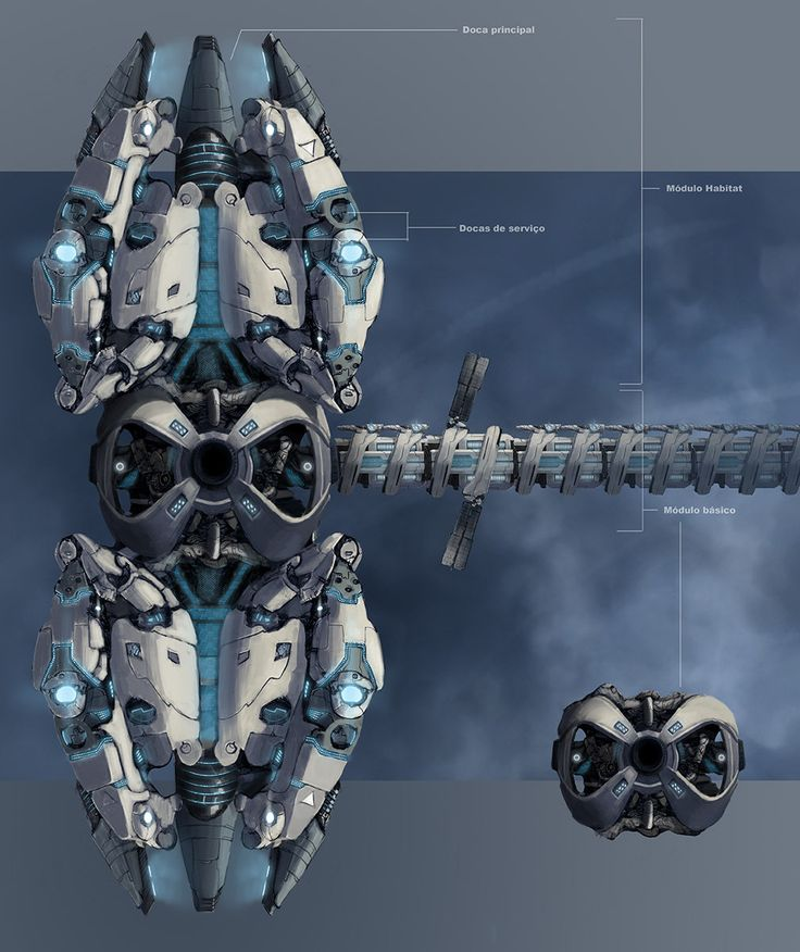 100+ ideas to try about Scifi - Space Stations | Cyberpunk ...