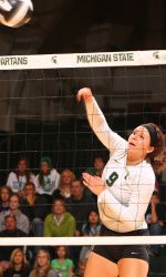 Michigan State's volleyball program will wrap up its spring training and competition with the MSU Spring Invitational this Saturday at Jenison Field House.