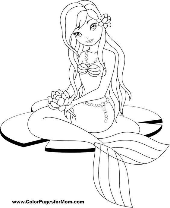 find this pin and more on coloriage sirne by marjo1001 - Coloriage Sirene