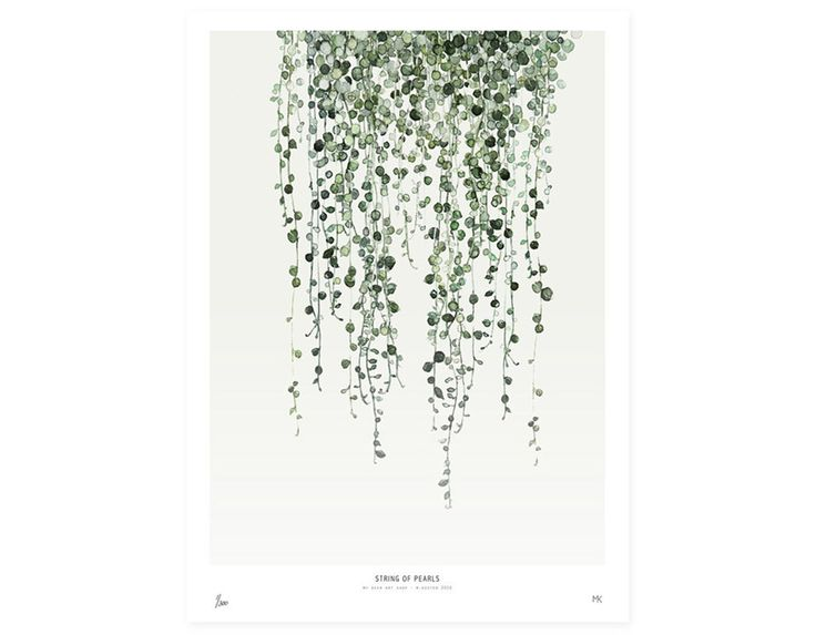 Love Creative People | Affiche 'Botanical' My Deer