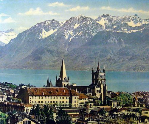 Our host Lausanne (12-14th September) - a city situated on the shores of Lake Geneva with the Jura mountains to its north-west. Stunning! Tickets are still available!