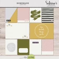 Homemade | Pocket Cards