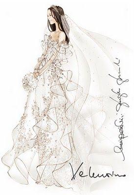 Designers Sketch Wedding Dresses for #Kate_Middleton