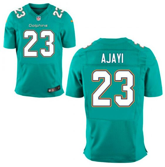 Miami Dolphins Jersey - Jay Ajayi Aqua Game Jersey