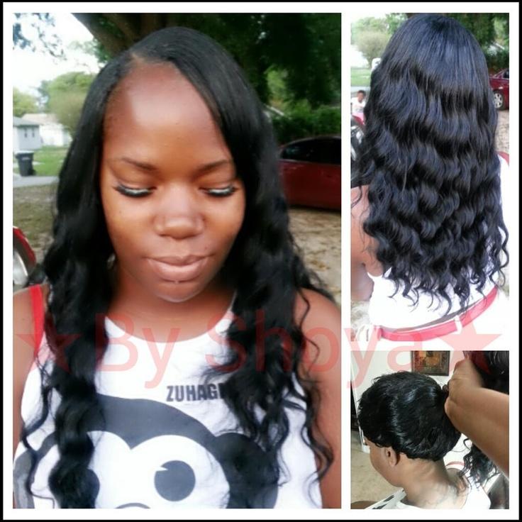 Quick weave w/versatility   Hair Styles   Pinterest   Quick weave, Hair style and Black women ...