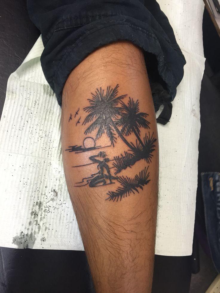 Beach tattoo/Haiti/Neg Marron