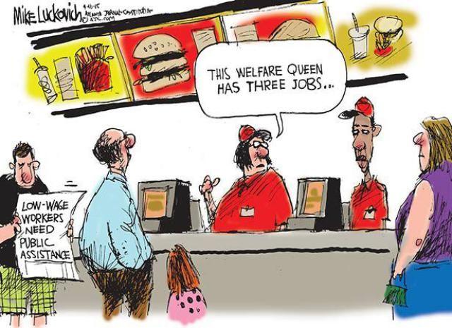 Political Cartoons of the Week: Welfare Queen