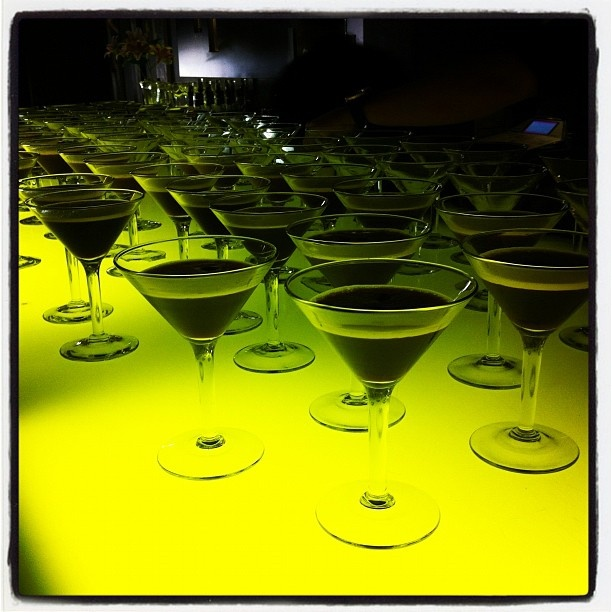 """@lisatomkeddie's photo: """"All of the espresso martinis at #adlfringe poster launch"""""""