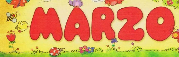 Maestra de Infantil: Carteles para los meses del año
