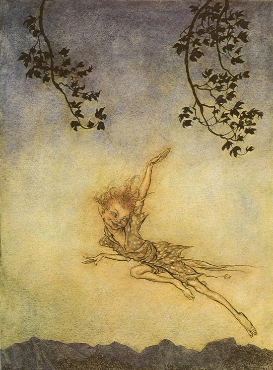 Farfalle eterne: L'ombra di Peter Pan