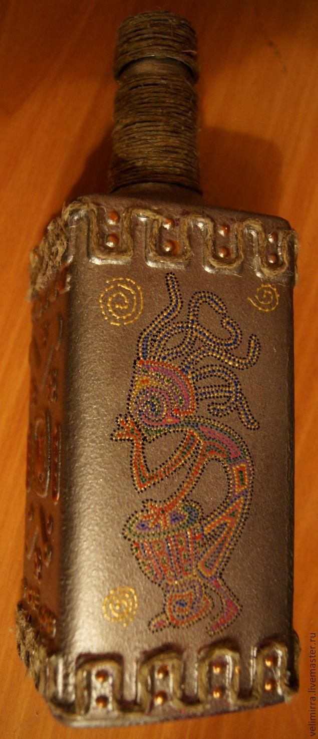 Превращение бутылки - Ярмарка Мастеров - ручная работа, handmade