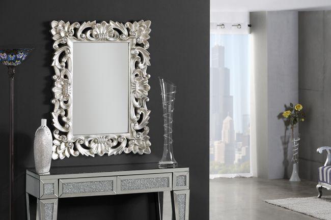 Espejos clasicos en plata comprar espejos en plata for Espejos grandes para recibidor