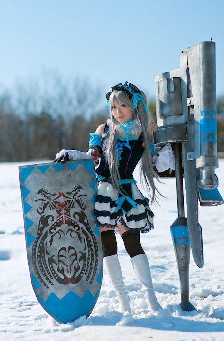 """Monster Hunter cosplay! """"Rifa"""" from http://ja.curecos.com #MonsterHunter #MH"""