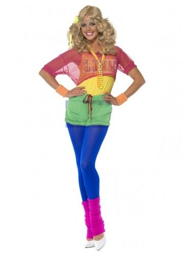 80's jumpsuit, Let's Get Physical 1980s costume for sale from Costume Direct. Buy online for fast delivery.