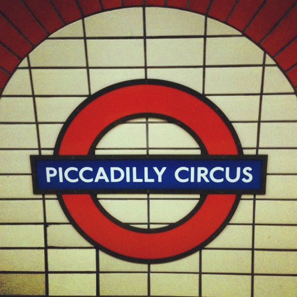 London, May 2012 (via instagram)