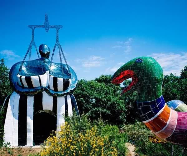 17 best images about art nicky de saint phalle on - Niki de saint phalle le jardin des tarots ...
