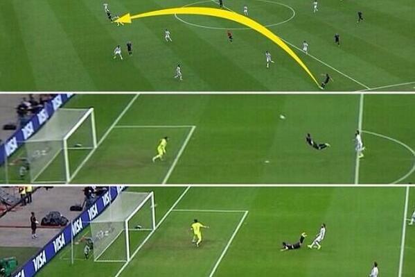 How Van Persie scored the historic goal!