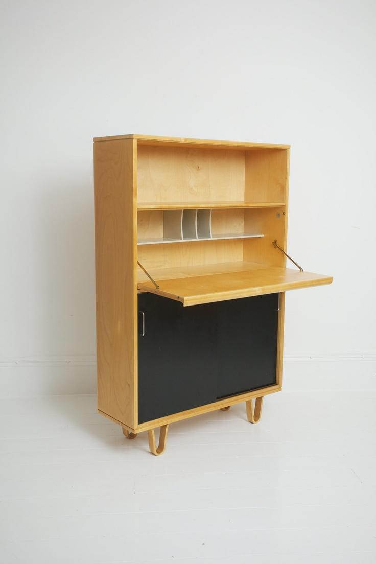 Birch Series Secretaire - Netherlands 1950's   Designer: Cees Braakman for UMS Pastoe