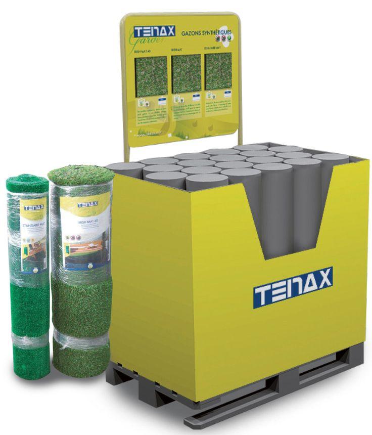 TENAX - espositore da terra per prodotti