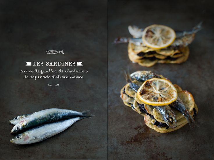 Sardines / My Little Fabric: Photography Food Dark, New Trends, Food Styling, Food Photography, Food Mystic, Food Recipe, Light