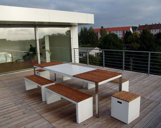 This High Quality Patio Furniture Group Has Been Designed In The Purpose To  Integrate It Into A Whole House Concept As It Combines Architecture  Elements And