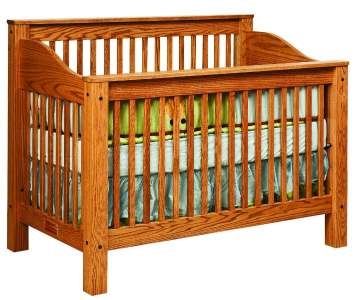 Great Mission Crib Bedroom Cribs And Convertible Furniture   Amish Furniture   We  Have Over 100 Solid American Cherry And Oak Amish Furniture Items.