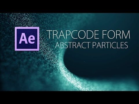TUTORIAL: Trapcode Form [AE] - Abstrakte Partikel - YouTube