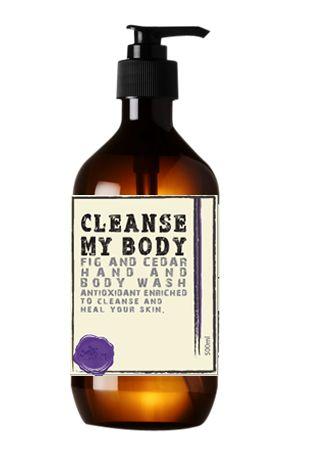 Cleanse My Body Fig & Cedar Hand & Body Wash