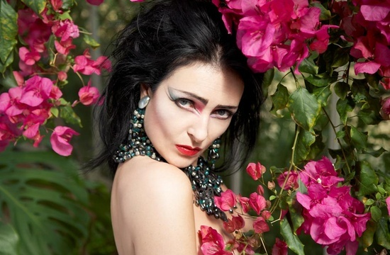 Siouxsie Sioux.  This pic is from 2009 apparently, she was 55.  Seriously!?!  I'm in my 30s and wish I was this striking at the moment.